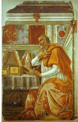 St. Augustine of Hippo, a great doctor of the Church and a saintly hero to Pope Benedict XVI