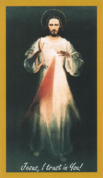 The original Divine Mercy painting