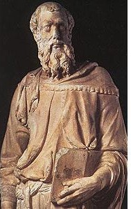 A Statue of St. Mark, the Evangelist
