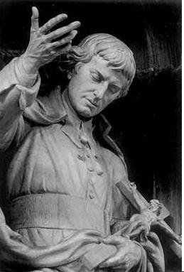 St. Louis-Marie Grignion de Montfort, Statue