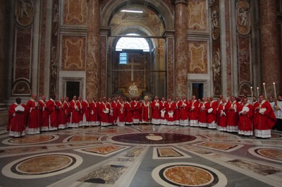 The 46 Metropolitan Archbishops who each received a pallium on the Solemnity of Saints Peter and Paul in Rome, June 29th 2007