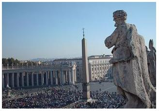 Overlooking St. Peter's Square