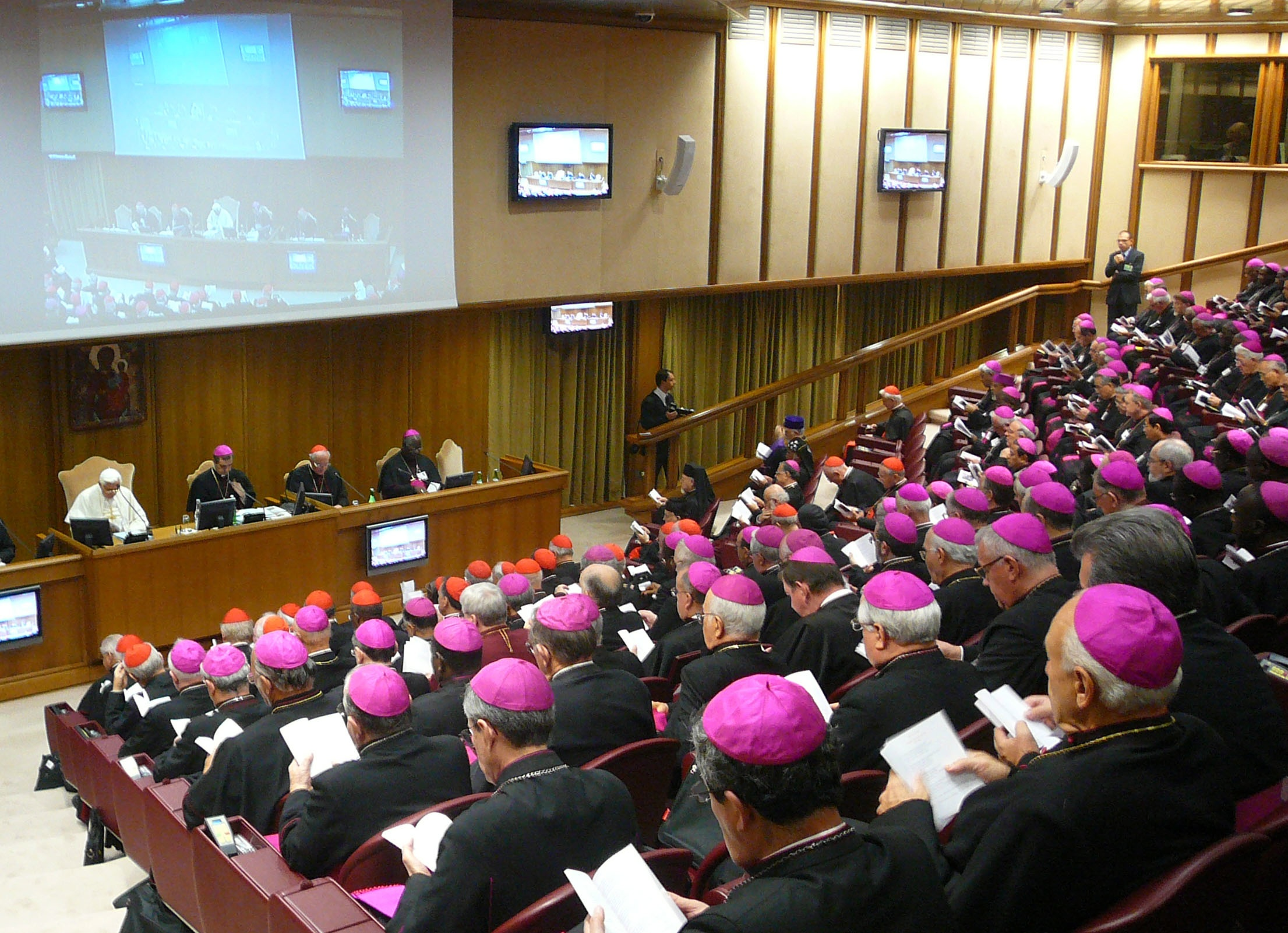 synod of bishops The meaning of a synod the synod of bishops was established by blessed pope paul vi near the conclusion of the second vatican council in 1965 the synod itself is an advisory body for the.
