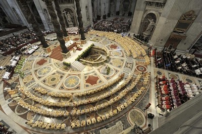 Final Mass Synod of Bishops / Photo Credit: Reuters