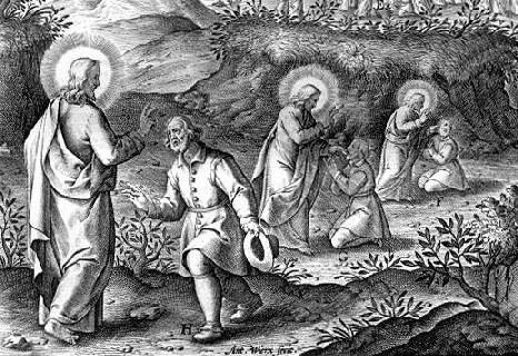 Jesus heals the deaf-mute, Jerome Nadal, S.J., 1507-1580
