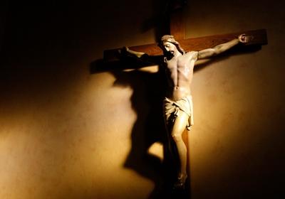 CRUCIFIX/LIFE OF JESUS/ART