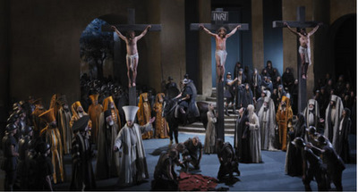2) passion play crosses