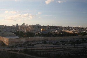 A view of Old Jerusalem from the Mount of Olives  - Photo: David Le Ross