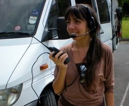 Alessia working for BBC-1