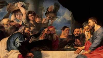 RUBENS, Pieter Pauwel-Christ at Simon the Pharisee-1618-20