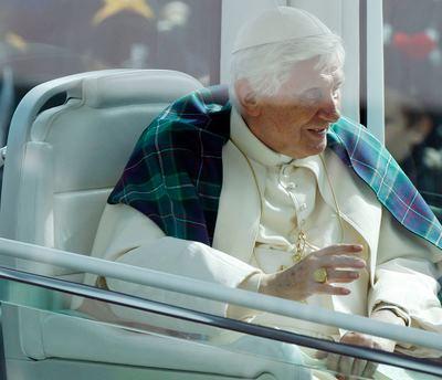 POPE-BRITAIN/ARRIVE