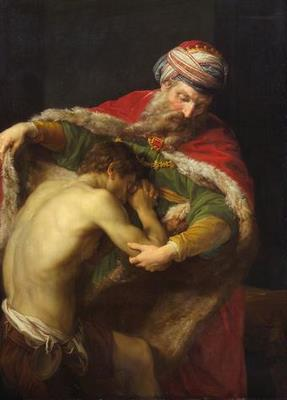 Pompeo Batoni's The Return of The Prodigal Son, 1773