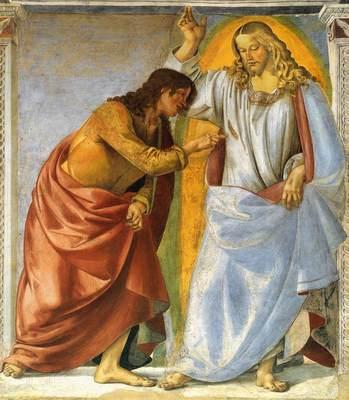 Incredulità di San Tommaso dans immagini sacre DoubtingThomas