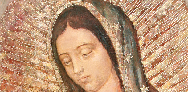 Virgin Mary Murals - Mexican TIle