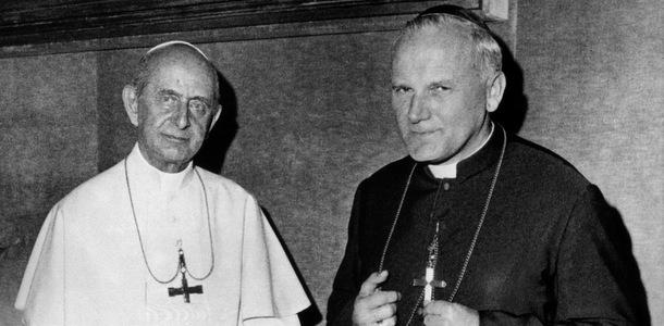 En salig og en hellige pave