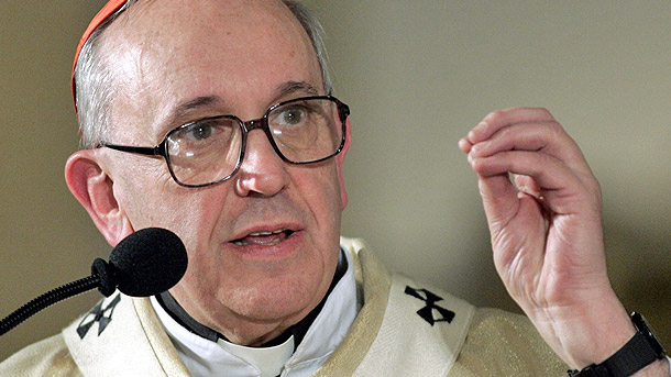 The world's cardinals meeting in conclave elected Cardinal Jorge Mario Bergoglio of Buenos Aires, Argentina, a 76-year-old Jesuit, as pope. He took the name Francis I. He is pictured in a 2005 photo. (CNS photo/Enrique Marcarian, Reuters)