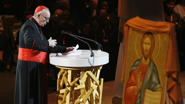 CARDINAL OF BUENOS AIRES DELIVERS CATECHESIS AT EUCHARISTIC CONGRESS