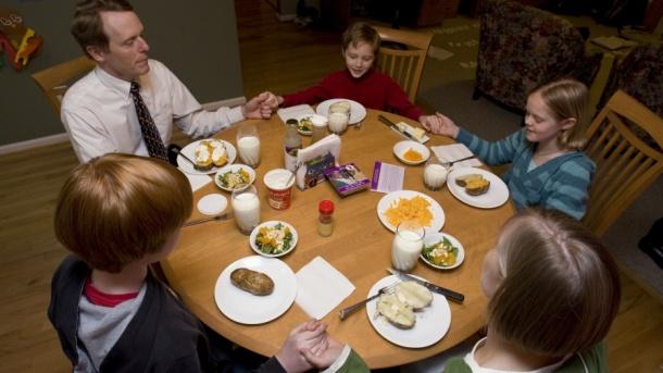 Family Dinner cropped