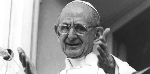 1977 FILE PHOTO OF POPE PAUL VI