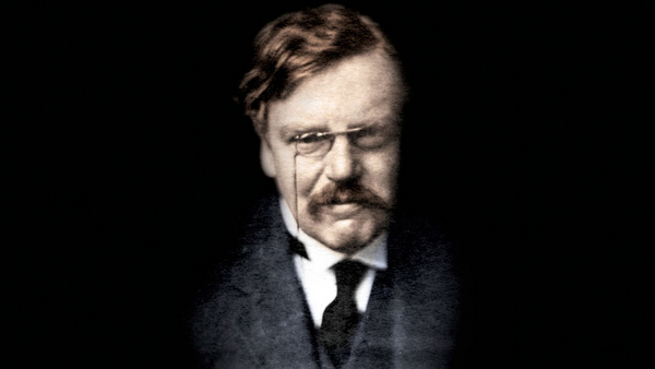 COVER OF BOOK ON G.K. CHESTERTON