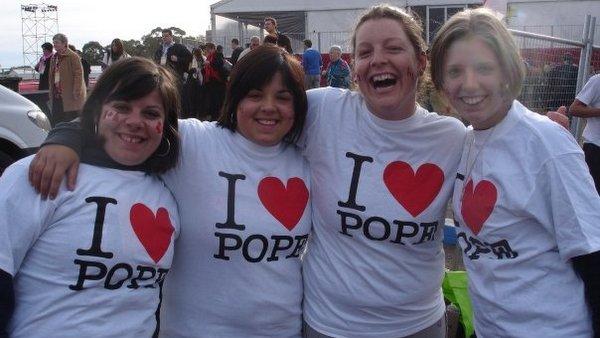 WYD Aus We Heart Pope