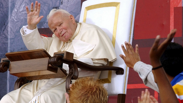 2002 PHOTO OF POPE JOHN PAUL II AT WORLD YOUTH DAY IN TORONTO