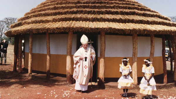 POPE VISITS UGANDA IN 1994