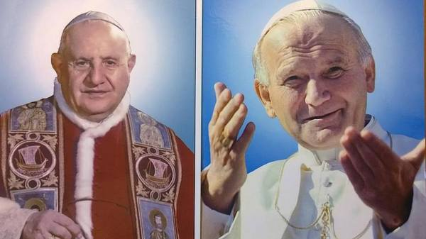 John XIII John Paul II Official Photos