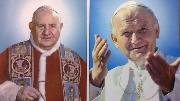 John XIII John Paul II Official Photos