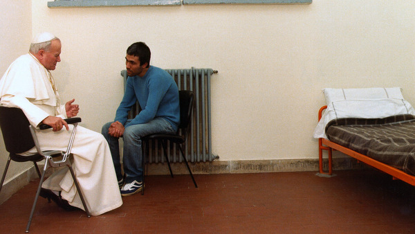JOHN PAUL II VISITS ASSAILANT AGCA IN PRISON IN 1983