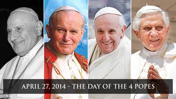 The Day of the 4 Popes