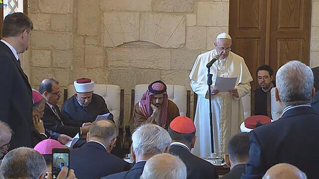address at the visit of the Grand Mufti of Jerusalem
