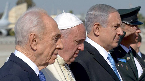 Pope Francis' arrival and address in Tel Aviv
