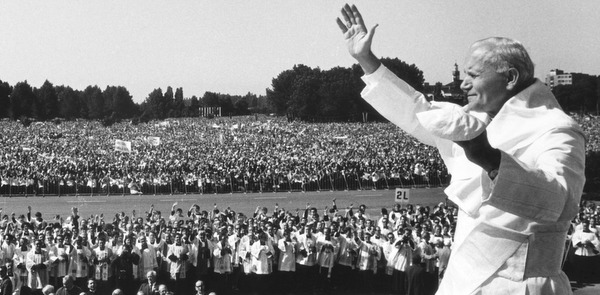 Pope John Paul II –  a legacy of holiness