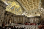Pope Francis leads ecumenical vespers at Basilica of St. Paul Outside the Walls in Rome