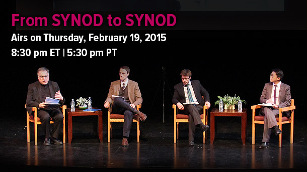 From Synod to Synod Airs on S+L