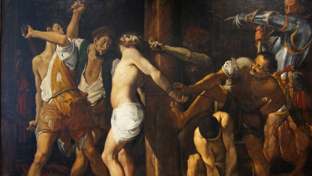 Carracci Flagellation cropped