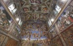 File photo of Sistine Chapel in Vatican Museums