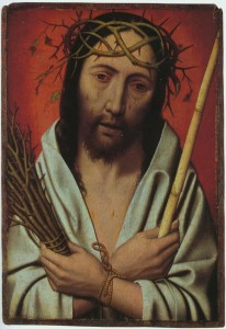 Jesus Crowned with thorns Jan Mostaert sm