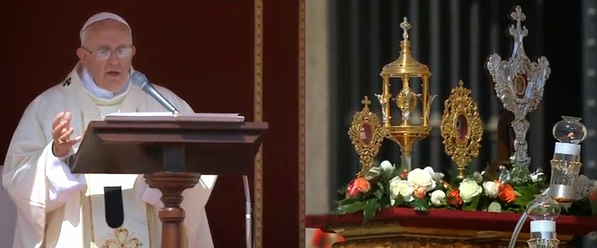 Homily of Pope Francis at the Mass of Canonization of 4 New Saints – May 17, 2015
