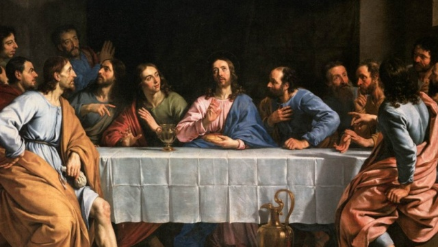 Last Supper Champaigne cropped