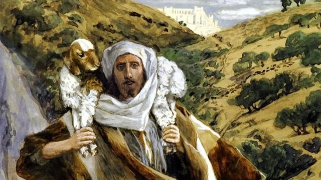 Jesus Shepherd Tissot cropped