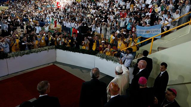 Pope_Bolivia_Religious