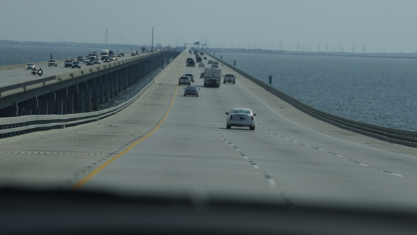 The Lake Pontchartrain Causeway is the longest continuous bridge over water.