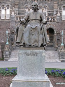 John Carroll Founder Georgetown University