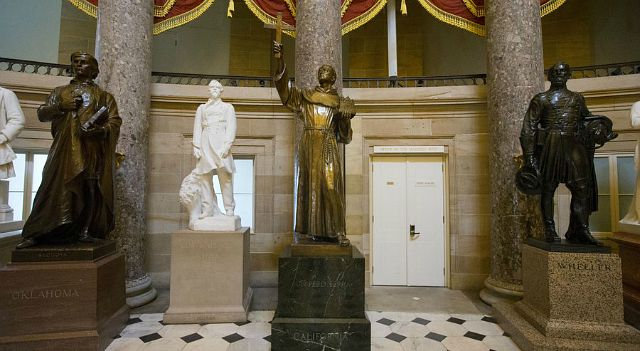Junipero Serra in US Capitol Statuary Hall