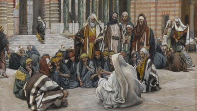 the interpretation of jesus in the movie the temple