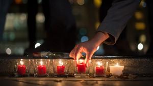 Candles, Paris tragedy