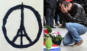 Paris terror - peace