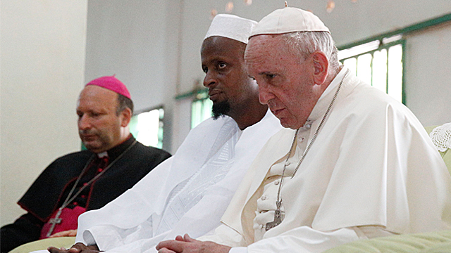 Pope In CAR: Address to Muslim Community